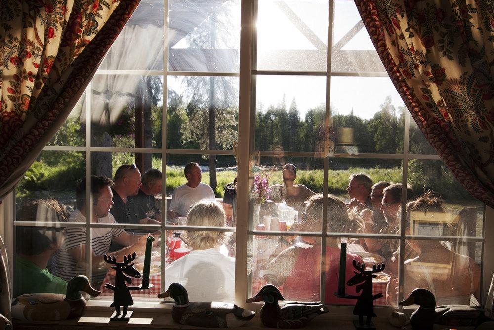 Bo på lodge i Alaska