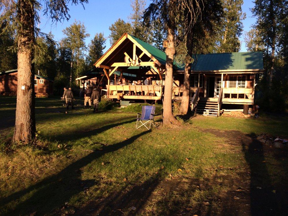 fishing lodge in Talkeetna, Alaska